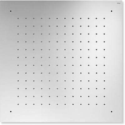 TRES - Stropní sprchové kropítko z nerez. oceli, proti usaz. vod. kamenesystém proti usaz. vod. kamene 500x500mm. (134951)