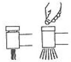 TRES - Jednopáková dřezová kuchyňská bateries vyjímatelnou sprškou (2funkce) (162438), fotografie 8/4