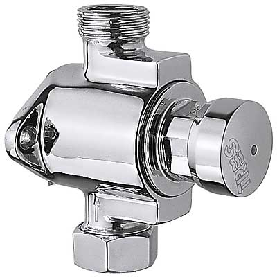 Sprchová baterie vnější přítok spodem, vstup a výstup s maticí a těsněním pro trubici 13x1 (112167)