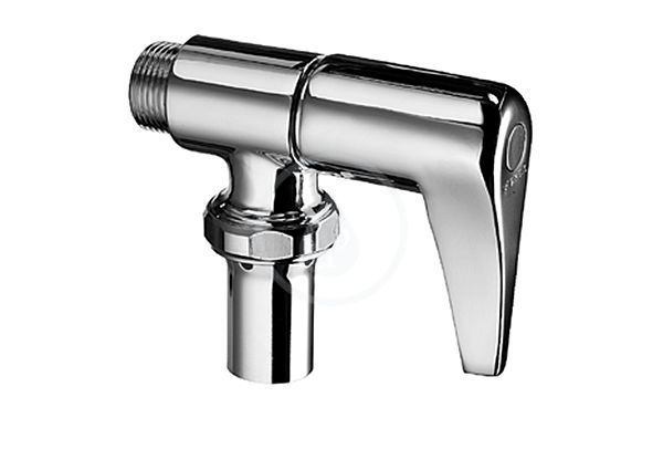 VÝPRODEJ - omat Splachovací ventil WC, chrom (027020699VYP)
