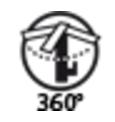 TRES - Jednopáková dřezová baterie nástěnná (172418), fotografie 2/3