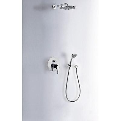Sprchová sada vestavná · Pevná sprcha O 200 mm. s kloubem (299.632.12). · Kolínko nástěnn (07088002) Tres