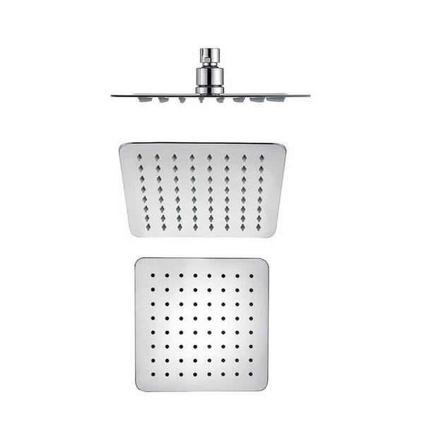 Kreiner COMFORT hlavová sprcha čtvercová, 250x250mm, ušlechtilá ocel, chromovaná s vysokým leskem (K5402000)