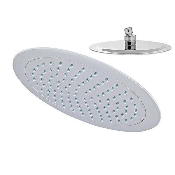 Kreiner PREMIUM hlavová sprcha kruhová 210mm O, chromovaný plast s vysokým leskem (K5402159)