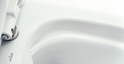 CERSANIT - Závěsné WC Caspia NEW CLEAN bez sedátka náhrada za K100-383 (K11-0233), fotografie 8/6