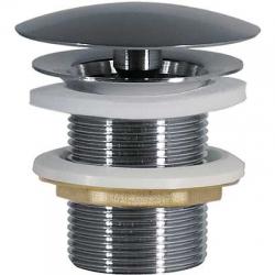 TRES - Umyvadlový ventil svolným (vždy otevřeným) odtokemzátka O72mm (13424010)