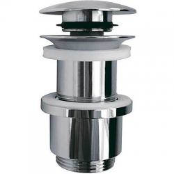 TRES - Zaslepený ventil pro dřevěné umyvadlozátka O63,5mm CLICK-CLACK (60-85 mm.) (13494210)