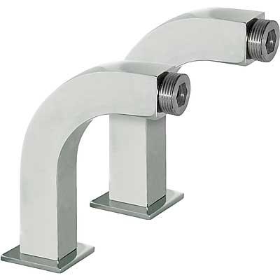Rohový ventil vana-sprcha 2 kusy s tlumičem (29987002)
