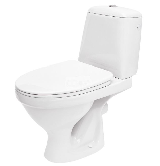 CERSANIT - WC KOMBI EKO  zadní odpad + SEDÁTKO EKO (K07-155+K98-0036)