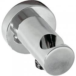 TRES - Úchyt ruční sprchy se stěnovou přípojkou vodys nástěnným vodnim přívodem (20518201)