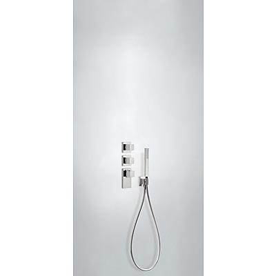 Termostatická baterie podomítková BLOCK SYSTEMs uzávěrem a regulací průtoku (4-cestná) Včetně podomítkového termostat (20625491)