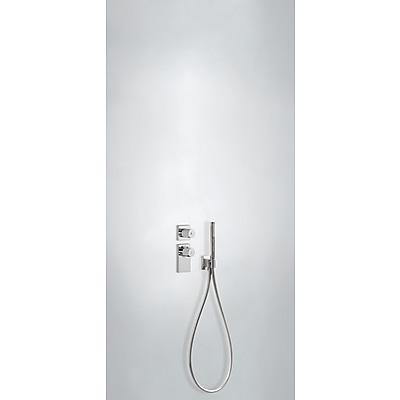 TRES - Termostatická baterie podomítková BLOCKSYSTEM s uzávěrem a regulací průtoku (2-cestná) (20635291)