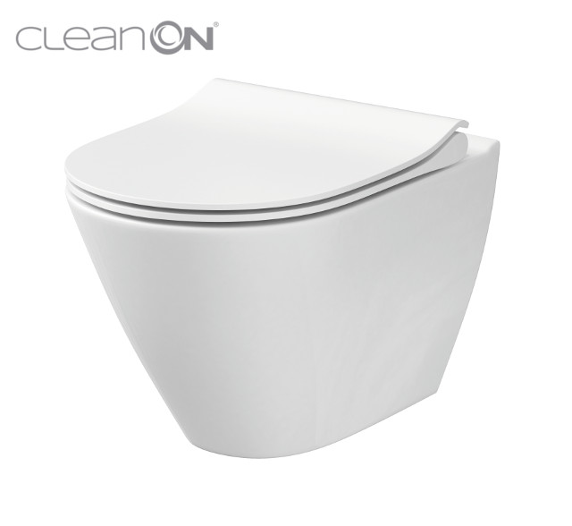 CERSANIT - WC MÍSA CITY OVÁLNÁ NEW CLEANON (K35-025)