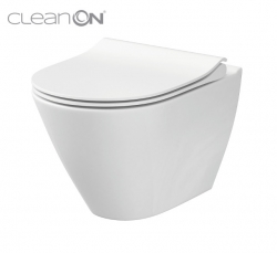 CERSANIT - WC MÍSA CITY OVAL NEW CLEANON (K35-025)