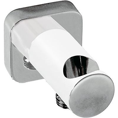 TRES - Úchyt ruční sprchy se stěnovou přípojkou vody s nástěnným vodnim přívodem (20018201BL)