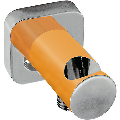 TRES - Úchyt ruční sprchy se stěnovou přípojkou vody s nástěnným vodnim přívodem (20018201NA)