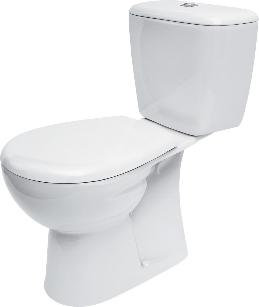 WC kombi MARKET 201 020 3/6, duroplastové sedátko (K100-201) CERSANIT