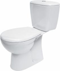 CERSANIT - WC kombi MARKET 201 020 3/6, duroplastové sedátko (K100-201)