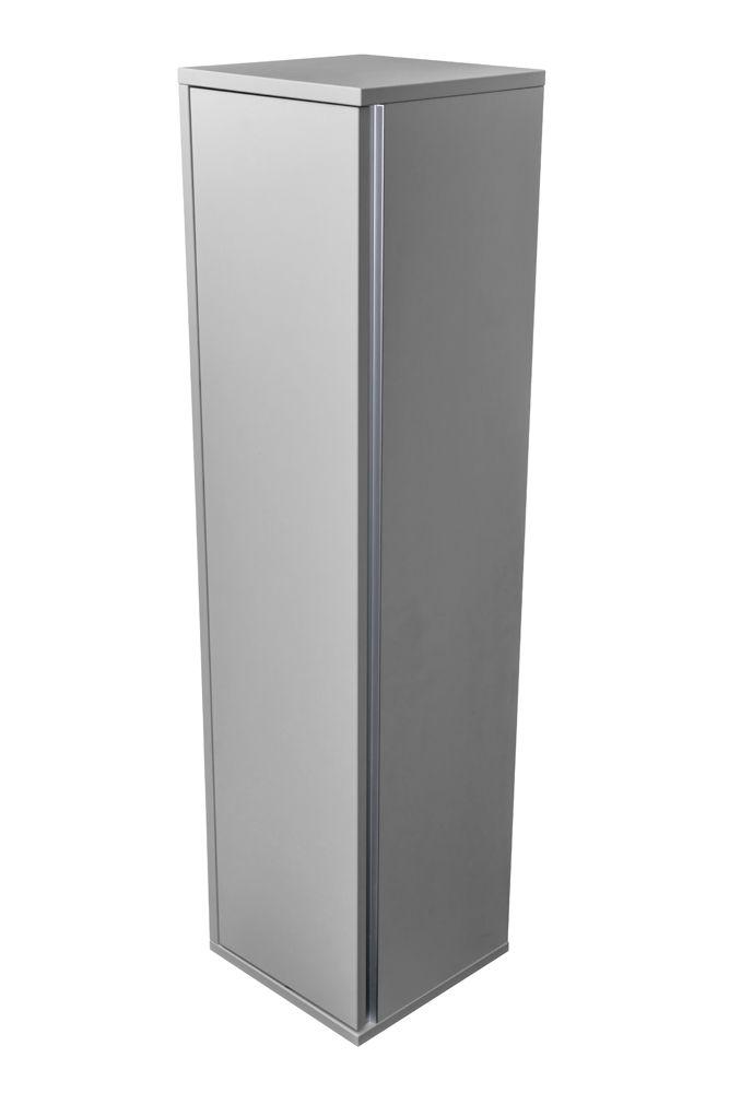 CEDERIKA - Amsterdam závěsná skříňka 1x dvířko barva světle šedá korpus korpus světle šedá šíře 30 (CA.Z1D.111.030)