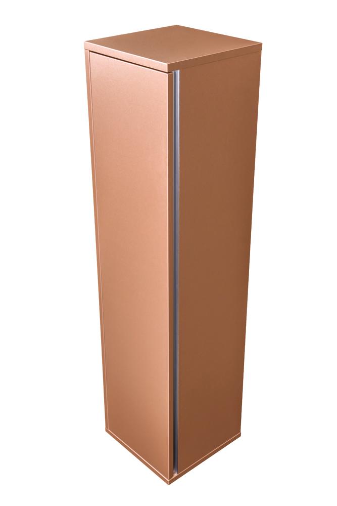 CEDERIKA - Amsterdam závěsná skříňka 1x dvířko barva metallic měděný korpus korpus metallic měděný šíře 30 (CA.Z1D.133.030)