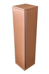 Amsterdam závěsná skříňka 1x dvířko barva metallic měděný korpus korpus metallic měděný šíře 30 (CA.Z1D.133.030) - CEDERIKA