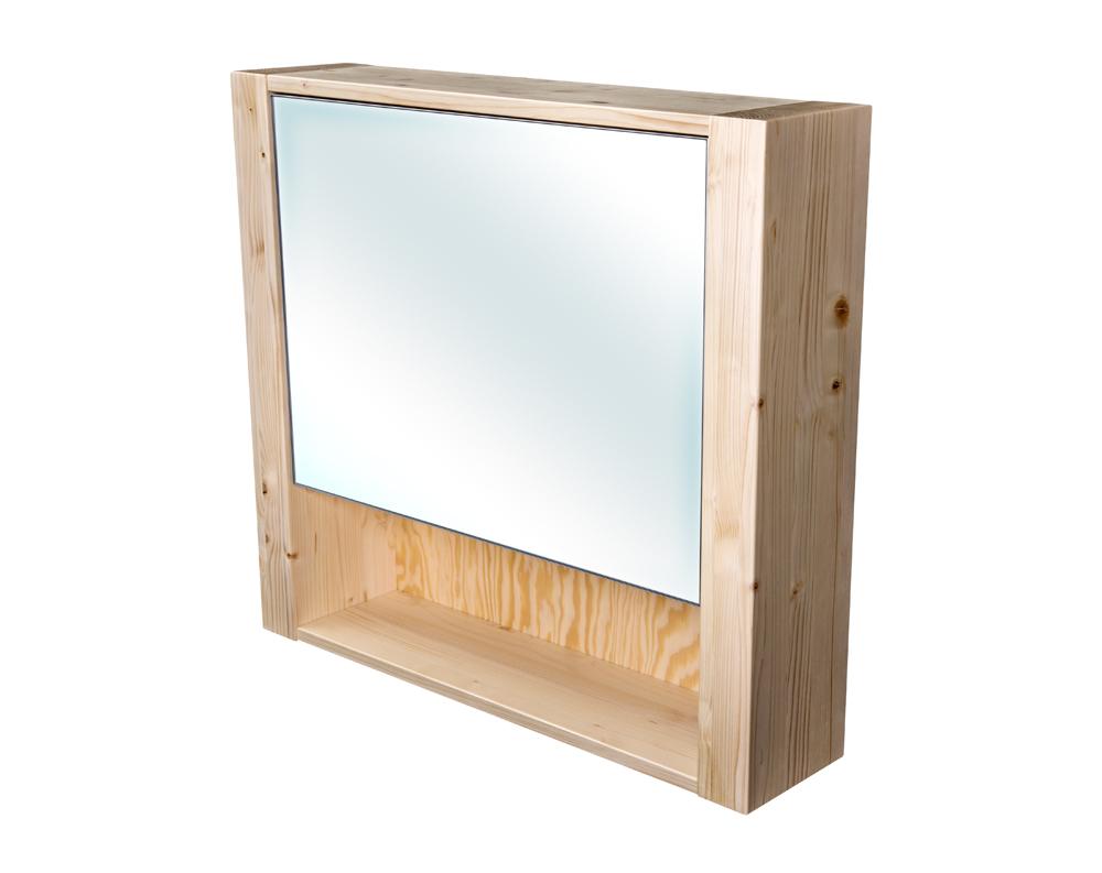 Bern galerka masiv smrk natur lak zrcadlo v AL rámu šíře 70 (CB.G1V.191.070)
