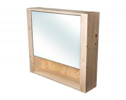 CEDERIKA - Bern  galerka masiv smrk natur lak zrcadlo v AL rámu šíře 70 (CB.G1V.191.070)