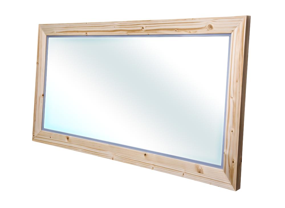 Bern zrcadlo masiv smrk natur lak šíře 120 (CB.ZR0.101.120)