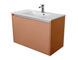 CEDERIKA - Amsterdam umyvadlová skříňka 1x šuplík barva metallic měděný korpus korpus metallic měděný šíře 90 (CA.U1B.133.090)