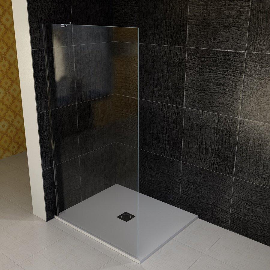 VITRA LINE boční stěna 1155mm, levá, čiré sklo (BN7515LVYP)