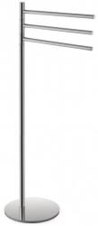 VÝPRODEJ - Bemeta OMEGA stojan s držákem ručníků, trojitý, otočný, chrom (104836032VYP)