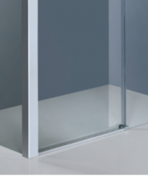 VÝPRODEJ - DYNAMIC R33 Chrom Sprchová zástěna obdélníková 120x90cm, varianta levá, výplň sklo - grape (DYNAMICR33-139VYP), fotografie 6/3