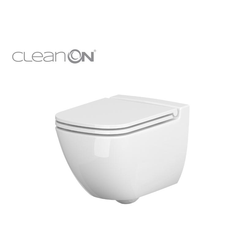 CERSANIT - Závěsné WC Caspia NEW CLEAN bez sedátka náhrada za K100-383 (K11-0233)