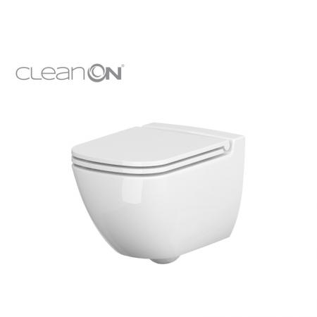 Závěsné WC Caspia NEW CLEAN bez sedátka náhrada za K100-383 (K11-0233) - CERSANIT