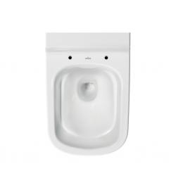 CERSANIT - Závěsné WC Caspia NEW CLEAN bez sedátka náhrada za K100-383 (K11-0233), fotografie 4/6