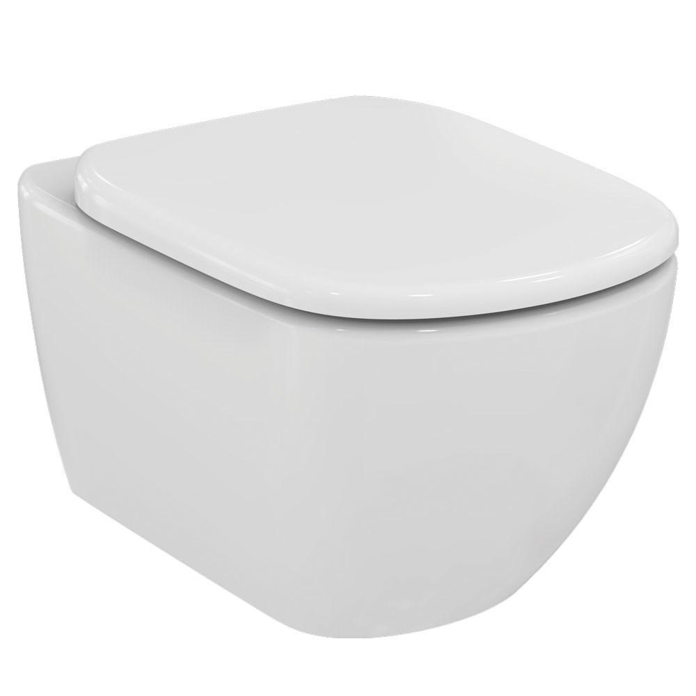 Ideal Standard Tesi wc mísa závěsná AQUABLADE vč.sedátka Soft-Close wrap-ower (T354801)