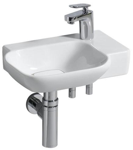 KERAMAG - K.myDay umývátko 40x28cm bez přep.,Pravé 125540000 (125540000)