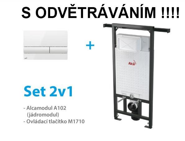 Set ALCAPLAST S ODVĚTRÁNÍM 2v1 A102/1200V,M1710 A102-V-SET2V1 (A102-V-SET2V1)