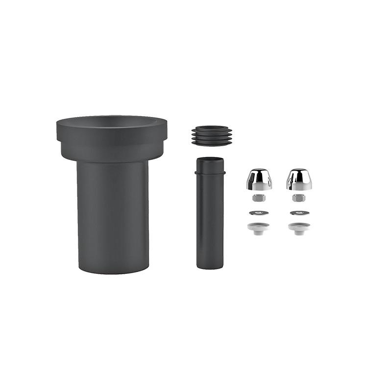 MEREO - Připojovací souprava pro závěsné klozety s možností excentr. napojení o 25mm (PR7133C)