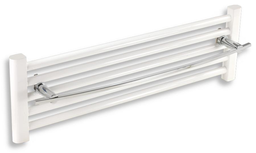 NOVASERVIS - Držák ručníků na otopný žebřík 700 mm  Metalia 2 chrom (6228/1,0)