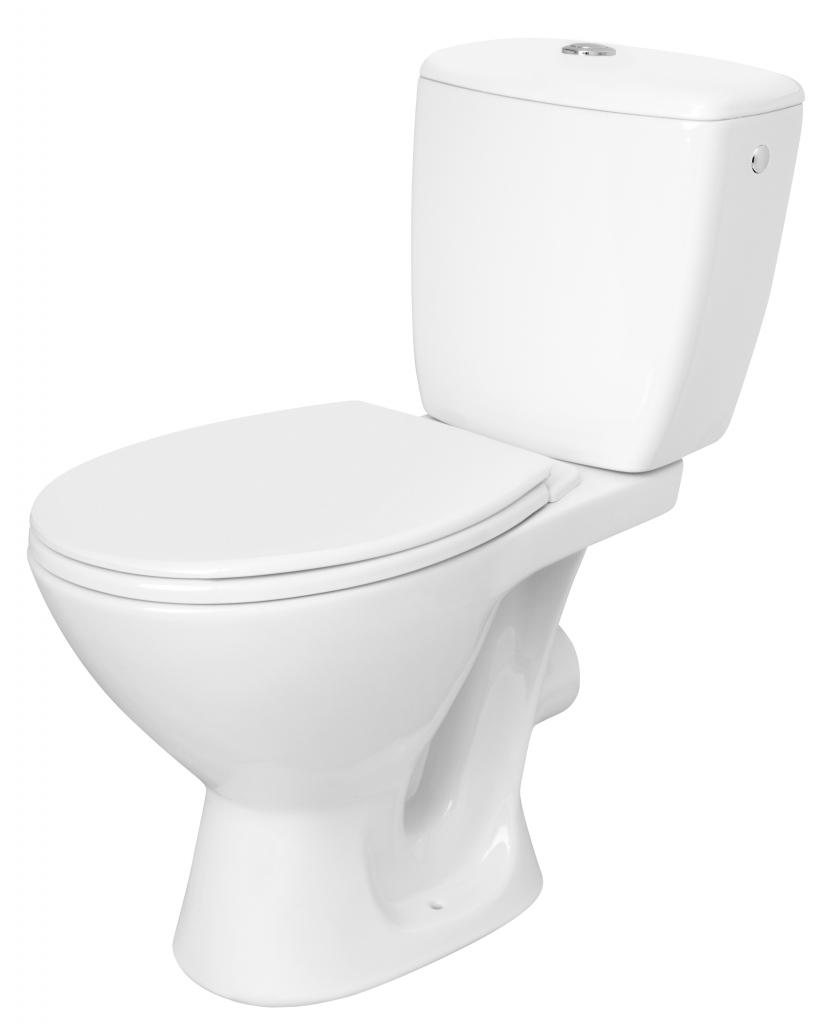 WC KOMBI KASKADA 206 010 3/6 SEDÁTKO PP (K100-206) - CERSANIT