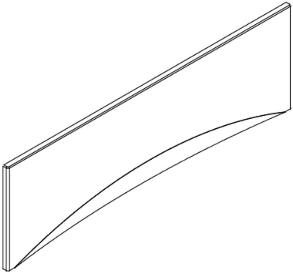 PANEL K VANĚ MITO RED 160 CW  (TS401-003)
