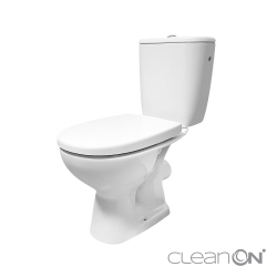 WC KOMBI 613 ARTECO 010 3/5 NEW CLEANON + DUROPLAST SEDÁTKO SOFTCLOSE (K667-052) - CERSANIT
