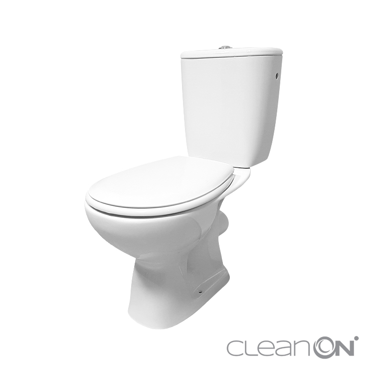 CERSANIT - WC KOMBI 638 ARTECO 010 3/5 NEW CLEANON + SEDÁTKO PP (K667-065)