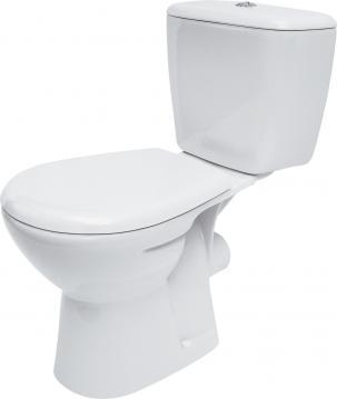 CERSANIT WC kombi MARKET 202 010 3/6, polypropylenové sedátko MARKET K100-202