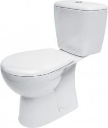 WC kombi MARKET 203 020 3/6, polypropylenové sedátko (K100-203) - CERSANIT