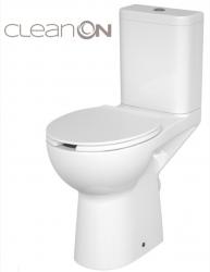 WC KOMPAKTNÍ ETIUDA NEW CLEANON 010 3 / 6L Invalidní  (K100-387) - CERSANIT