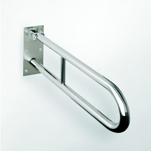 HELP sklopný úchyt ve tvaru U 600mm, nerez 301102071, sklopné madlo (301102071VYP)