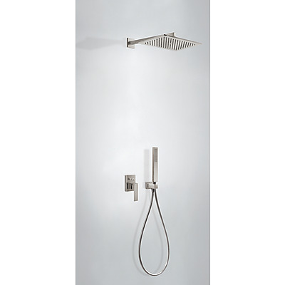 Podomítkový jednopákový sprchový set s uzávěrem a regulací průtoku.· Včetně podomítkového (20218006AC)