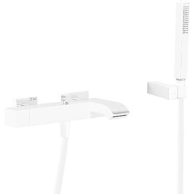 Jednopáková baterie pro vanu-sprchu s kaskádou. Ruční sprcha s nastavitelným držákem, prot (0071700203BM)